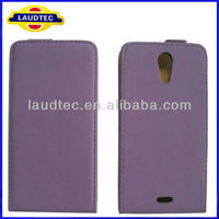 High Quality Ultra Slim Flip Leather Case for Sony Xperia ZR Laudtec
