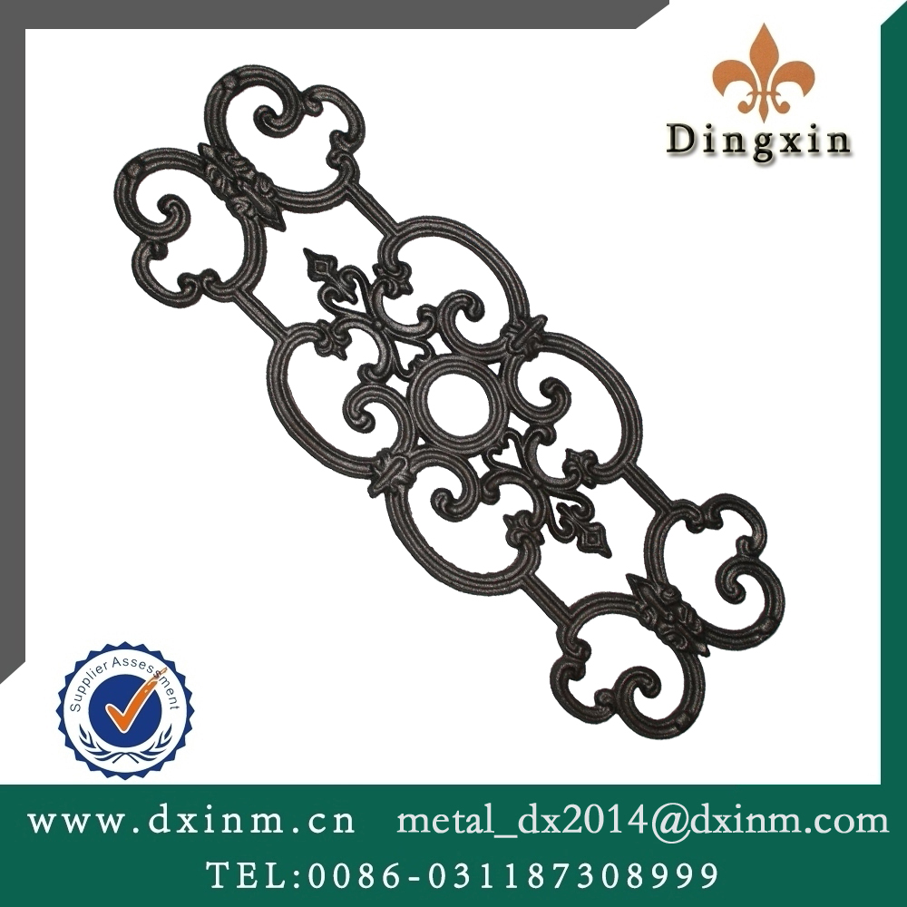 The wrought iron casting iron window security bars for sale