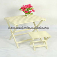Wooden Planter Stand For Decor