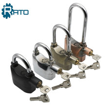 RP-044 /045/046Zinc Alloy / Aluminum Alloy Safe Door Anti-theft Short / Long Shackle Siren Alarm Padlock with Certification