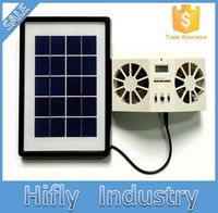HF-606 (001)New Developed Solar Portable Cooling Interior Car Fan Dubai Solar Powered Auto Fan Exhaust Cool Solar Fan