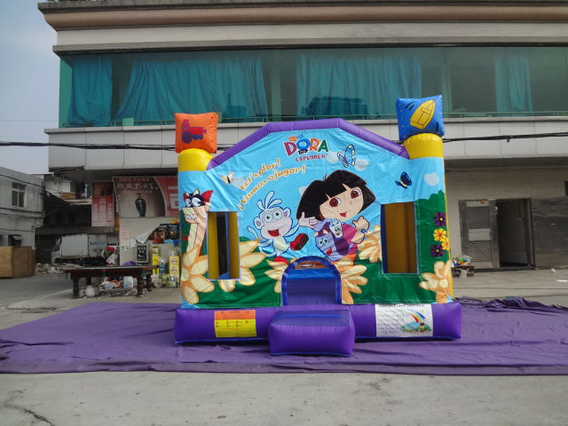 dora inflatable bouncy castle dora bounce house for sale