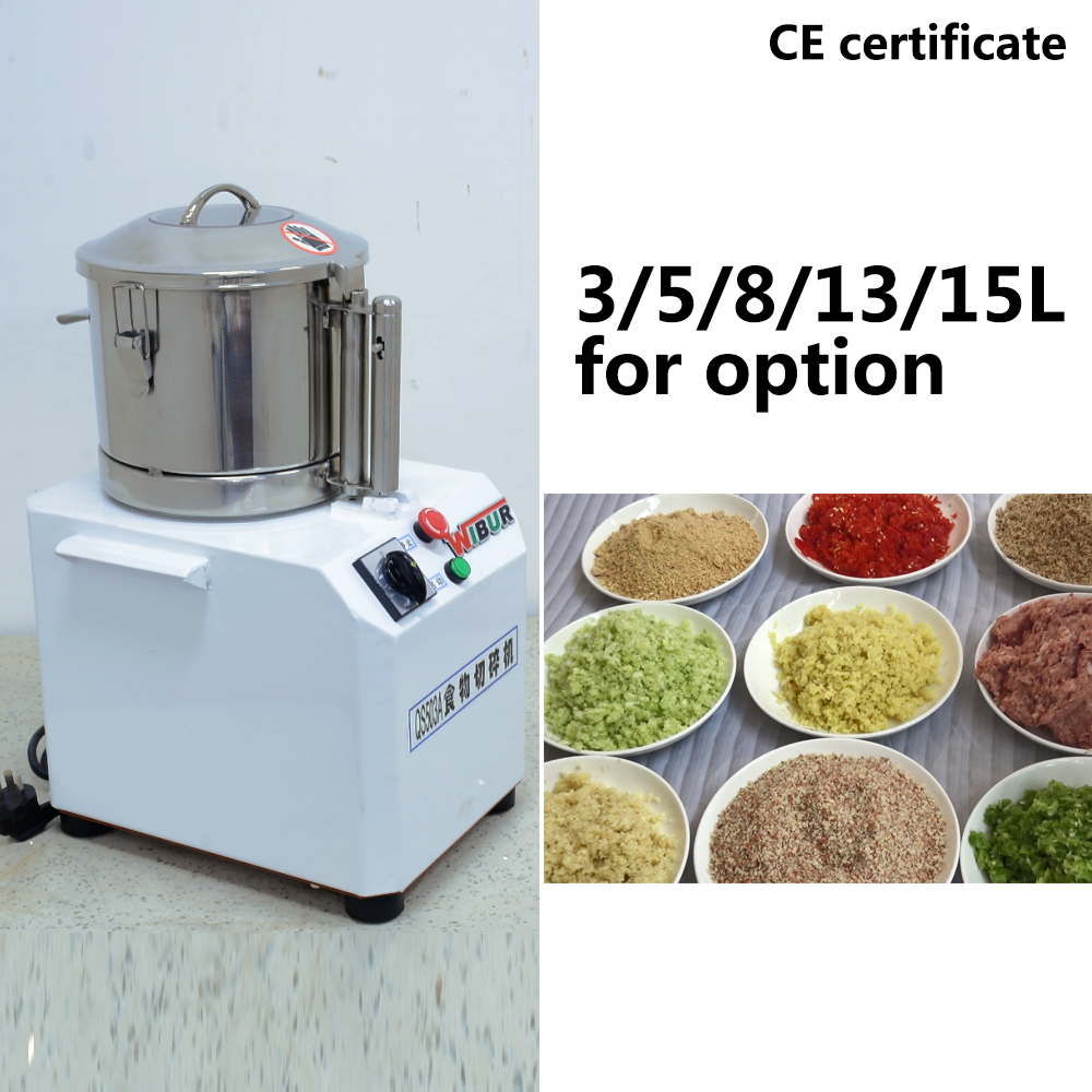 electric commercial vegetable cutter, food chopper, chili onion ginger vegetable cutting machine