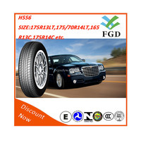 2015 Chinese new car tires with China factory low price for 175/70R14,165R13C,175R14C