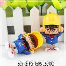 2015 New customized plastic change face toys professional factory in china/custom cartoon change face toys