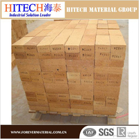 Zibo Hitech fireproof refractory fire brick made by calcined flint clay
