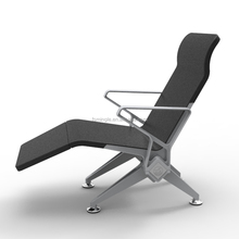 Best unique polyurethane design Aluminum Waiting Chair With USB Charge for VIP passengers waitng room
