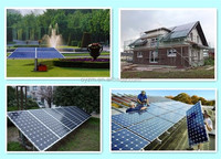 Jiangsu OU YA HOT SALE 1KW solar panel home solar power system Price per watt solar panels