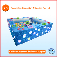 Fun games for kids to play water cube game water pond for disney theme park