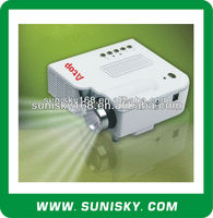 cheapest led mini projector with HDMI,USB,AV in (SMP28) for business meeting