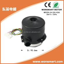 High pressure blower drive motor 12v 24v 300W bldc motor for fans air blower air conditioner