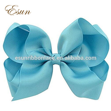 America fashion hair accessory large 6 inch big hair bows with clips
