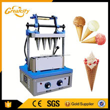 Electric Ice Cream Egg Tray Machine / ice cream waffle cone maker machine