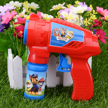 Wholesale high quality children blowing bubbles gun toy