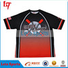 Sublimation dri fit custom softball jerseys slow pitch softball jersey print raglan baseball tshirt
