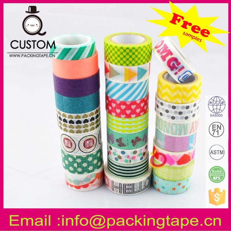Home decorating ideas washi tape for kids for gift packaging