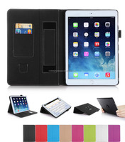 360 Degree Rorating Black Leather Case for iPad Air 2