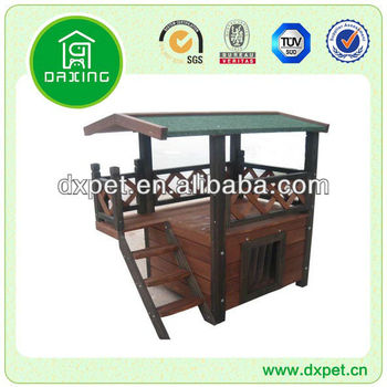 Dog Kennel with Veranda DXC001