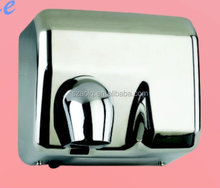 Hot sell 2300W Newest high speed manual 304 stainless steel hand dryer/adjustable rotary air outlet/CE&ROHS approved