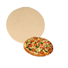 round - shape pizza baking oven stone for sale
