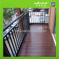 hot selling modern house decking design good price wood plastic composite decks, wpc decking outdoor
