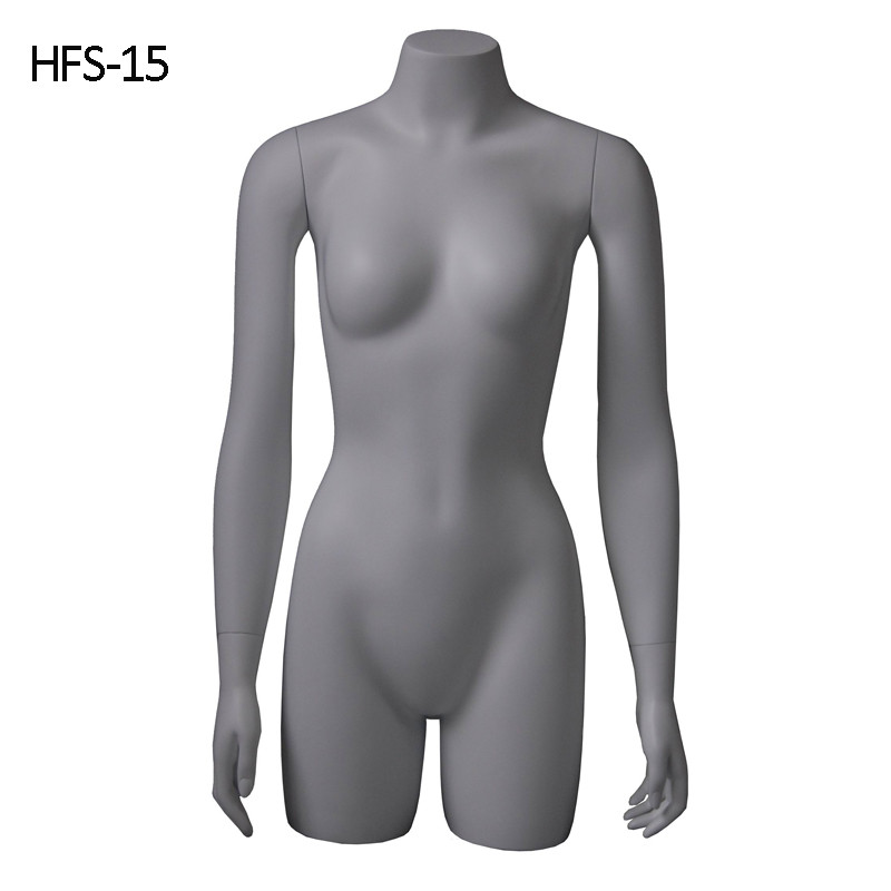 Cheap mannequin fasion half upper body display model