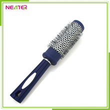 plastic soft bristle round rush brush hair