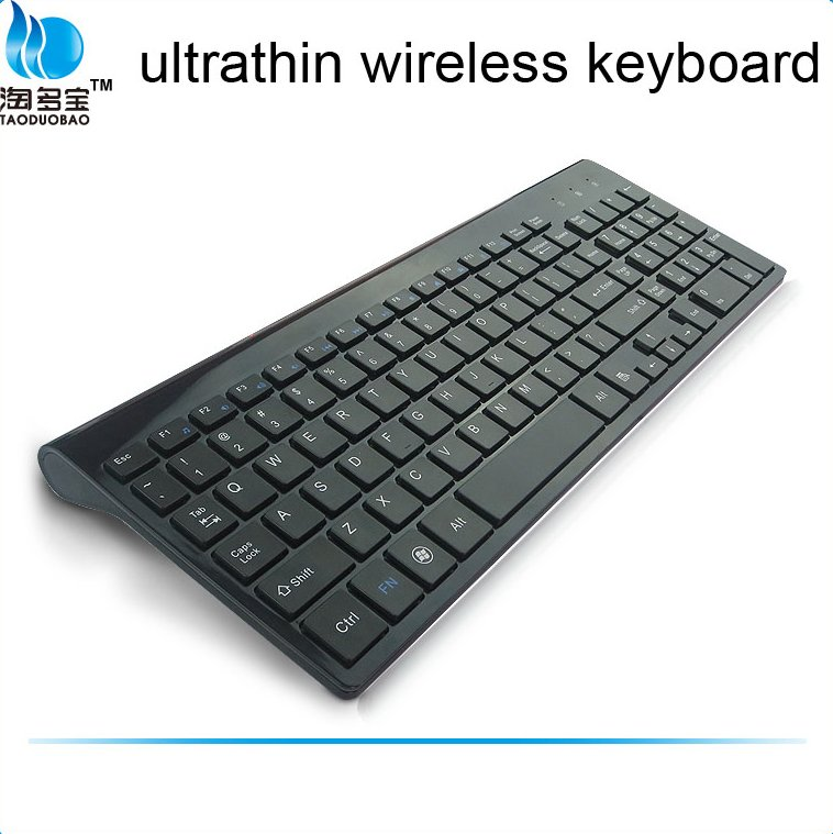 usb slim Wireless laptop notebook keyboard