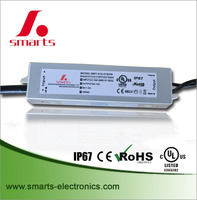 China supplier 12v 24v 48v electronic led driver 30w with waterproof