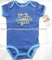 Thailand made Plain Romper 100% cotton with Screen