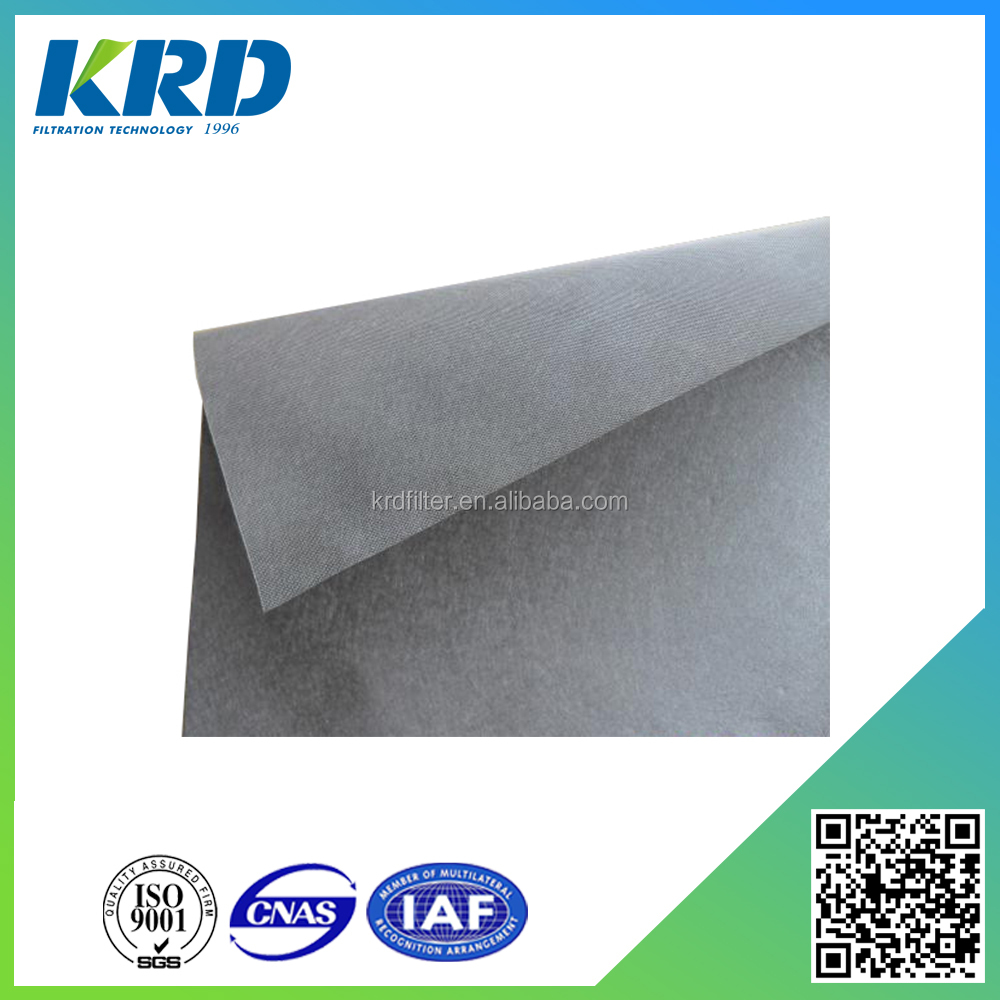 Custom Size 10 Micron Stainless Steel Sintered Metal Fiber Felt
