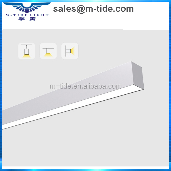 Hot sale slim LED light for office lighting slim 38mm width Linear LED design luminaire