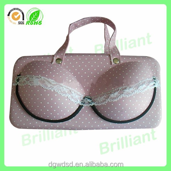 eva zipper custom bra case