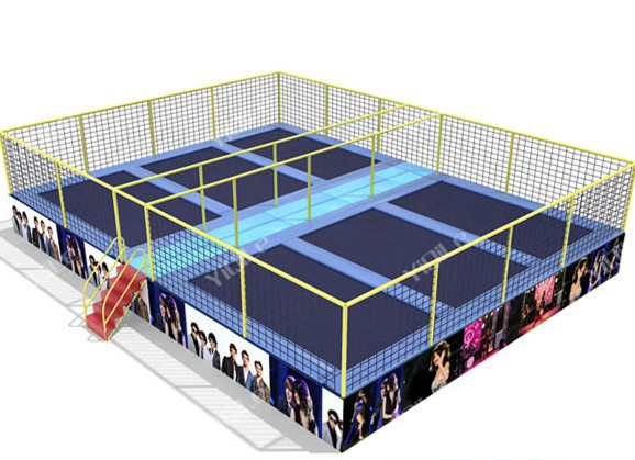Hot sale fitness and body building trampoline equipment