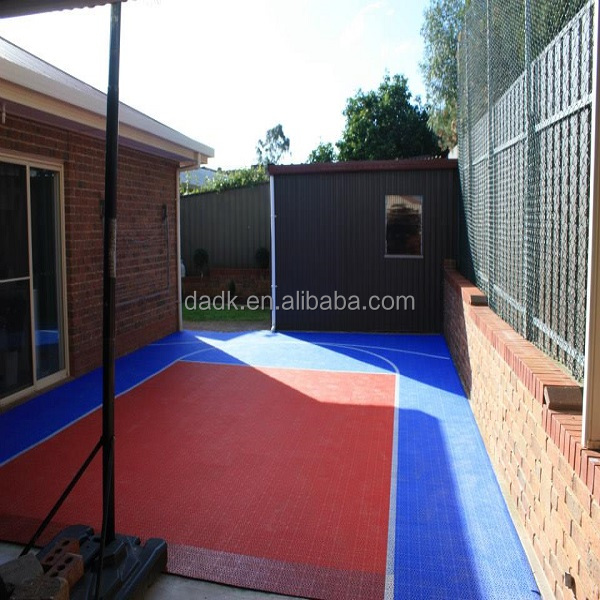 indoor and outdoor sport floor ,exterior sport court