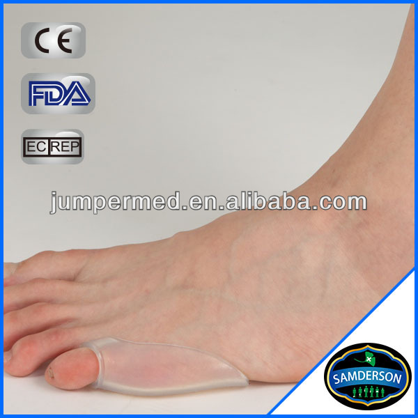Last Toe Gel Shield Silicone Gel , Shield Sleeve Pad, Last Toe Tailor's Guard