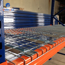 Heavy Duty Stainless Steel Wire Mesh Decking Shelving Rack
