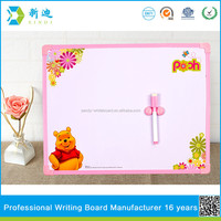 Lanxi xindi lovely Bear magnetic whiteboard stick on fridge for kids