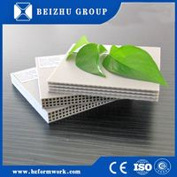 alibaba email address high strength hard plastic panel reusable building formwork for India