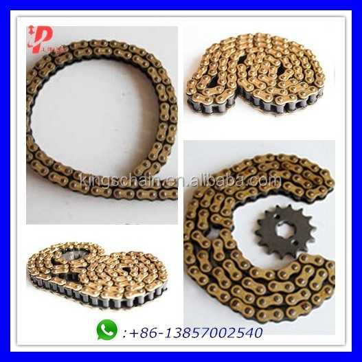Good supplier gold <strong>520</strong> <strong>O</strong>-ring motorcycle chain