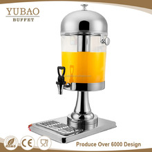 Food and beverage service equipment refrigerated cold plastic beverage orange juice dispenser china