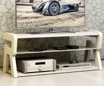 Wooden and Glass Modern TV stand furniture