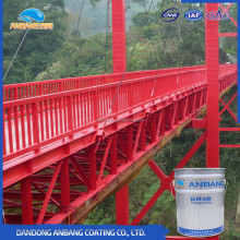 AB362G epoxy zinc rich bridge steel structure anti-corrosion coating with good resistance to oil and chemical