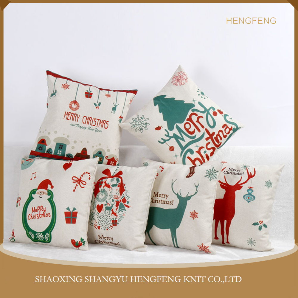 The explosion of Christmas Home Furnishing office sofa linen pillow cushion cover, creative pillow case