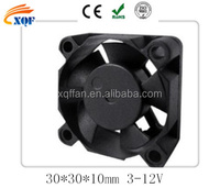 5V tiny cooling fan 30x30x10 small size cooling fan