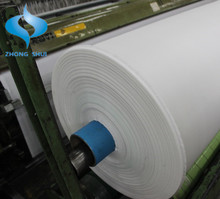 High Strength PP/PET Woven Geotextile Woven Fabric roll