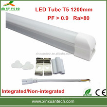 Wholesale build-in driver 100lm/w 4ft for indoor lighting led t5 tubes