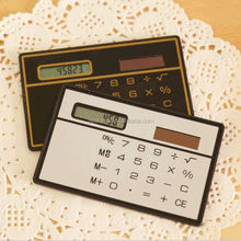Cheap Wholesale Portable Solar Credit Card Size Mini Pocket Calculator