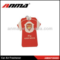 Red shirt last for 30 days car air freshener v8