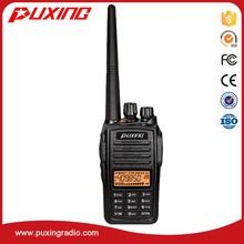 PUXING OEM VHF UHF FM professional two way radio PX-568 IP67 waterproof transceiver 4W voice encryption walkie talkie
